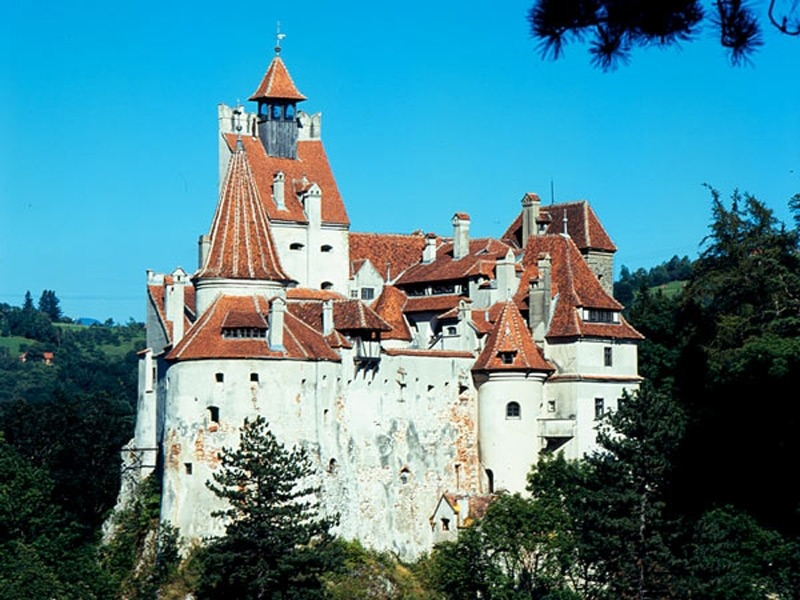 Castelul Bran, un castel ca in basmele cu domnite