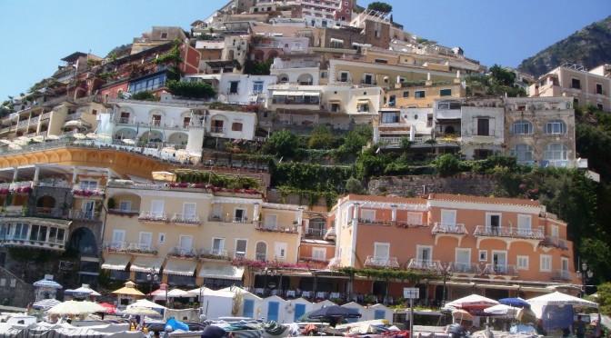 Cald si bine pe coasta Amalfi. Ep. 2. Positano