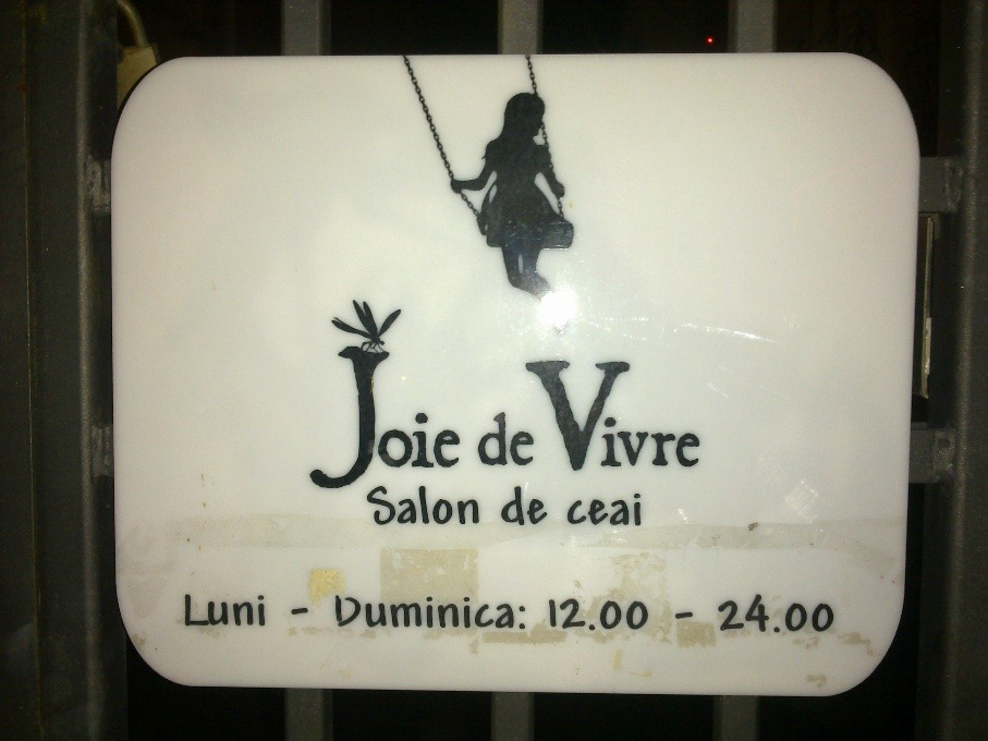 Ceainaria Joie de Vivre – A tea away from happiness