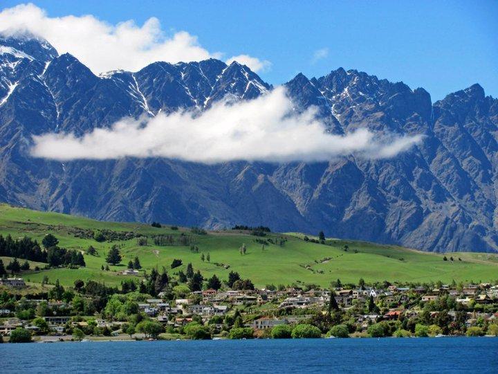 Lacul Wakatipu - Noua Zeelanda