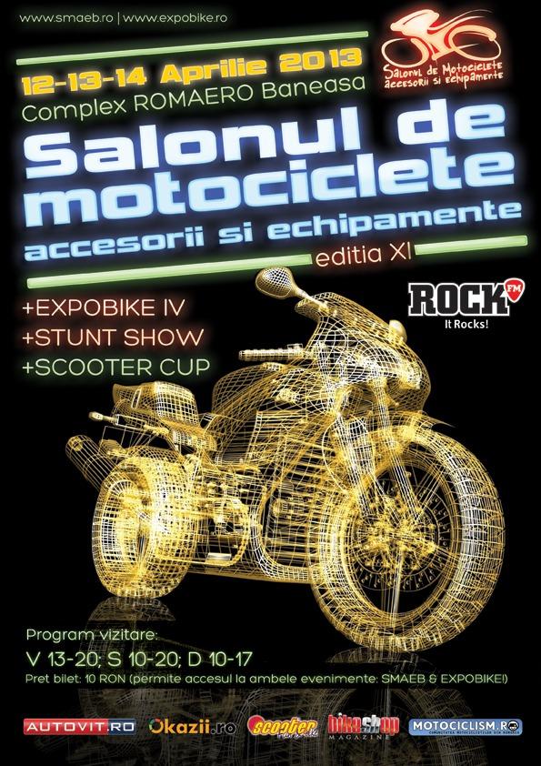 Salonul de Motociclete Accesorii si Echipamente Bucuresti (SMAEB) incepe astazi. Galerie foto