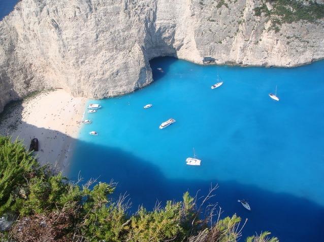 Zakynthos, multe paradisuri gasite si unul pierdut