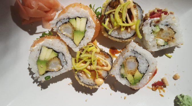 Imi place sushi de la Hiro Sushi