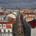 View from Praça do Comércio, Lisabona