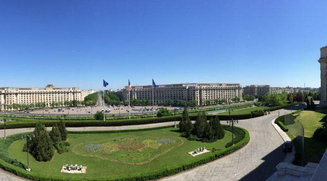În vizită la Palatul Parlamentului