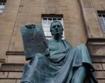 David Hume statue, Royal Mile, Edinburgh