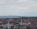 Copenhaga - priveliste din turnul Our Savior's Church