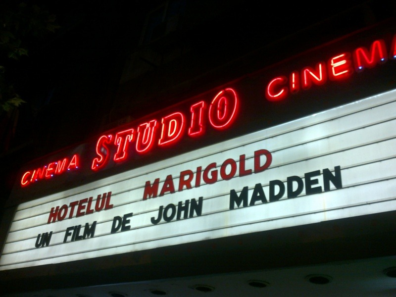 Cinema Studio Bucuresti - The Best Exotic Marigold Hotel