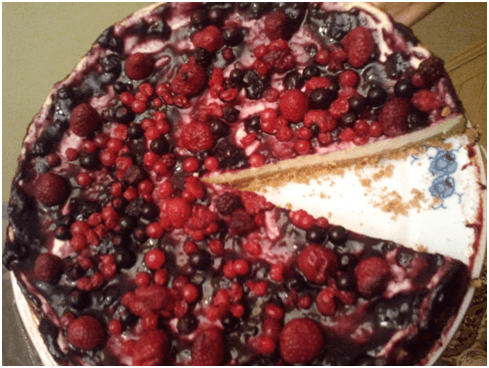 Tarta cu fructe facuta in casa