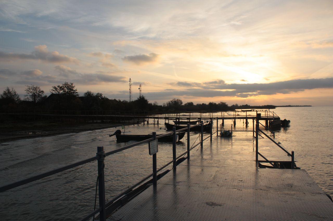 Delta Dunarii in mijlocul toamnei