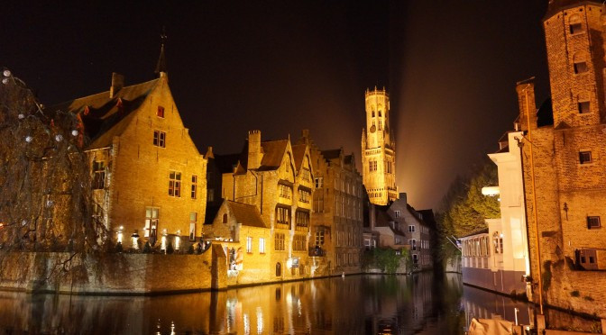La pas prin Bruges