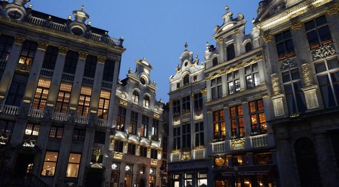 La pas prin Bruxelles