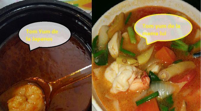 Japanos, inca un restaurant care pretinde ca face mancare asiatica