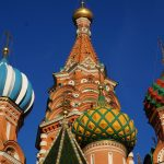 The Cathedral of Vasily the Blessed (St. Basil), Moscova, Rusia