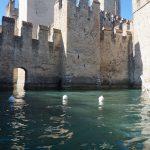 Castelul din Sirmione, Lacul Garda, Italia